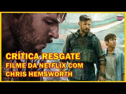 Crítica   Resgate - Chris Hemsworth estrela filme da Netflix com roteirista de Vingadores: Ultimato