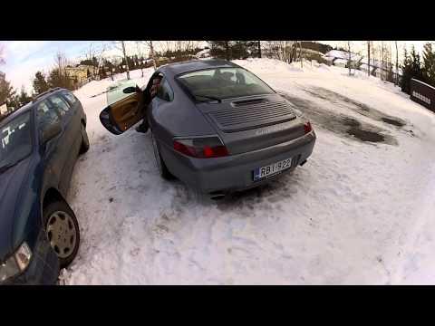 "996 Porsche Carrera 4 with Dansk Sport ""Super Sound"" mufflers"