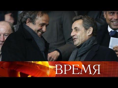 Во Франции был задержан бывший президент УЕФА Мишель Платини.