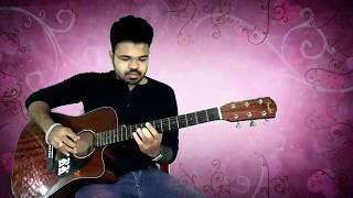 Neno ki jo baat Guitar Instrumental cover | Hum deewana | mera sanam