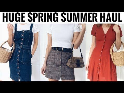 HUGE SPRING SUMMER HAUL & TRY ON 🌼🛍️ SHOPBOP, NEW LOOK, FENDI, SHEIN & MORE