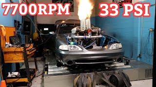 Eight Turbo Mustang Hits The DYNO!