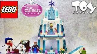 레고 디즈니 프린세스 엘사의 얼음 성 41062 겨울왕국 조립 리뷰 Lego Disney Princess Elsa s Sparkling Ice Castle