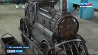 В Волчихинском политехническом колледже студенты для защиты диплома создают произведения искусства