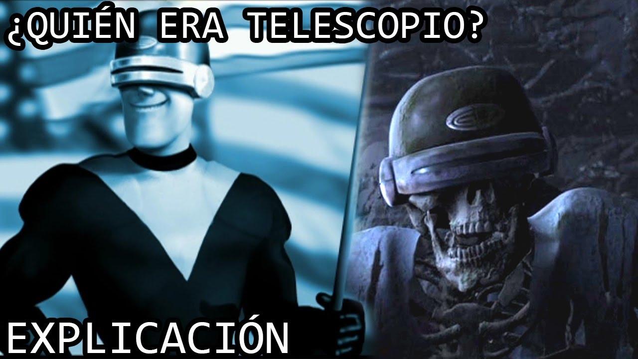 ¿Quién era Telescopio? EXPLICACIÓN   La Tragica Historia de Telescopio (Simon J. Paladino) EXPLICADA
