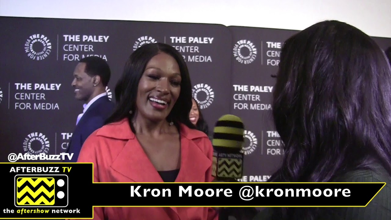 Kron Moore Interview   An Evening With Tyler Perry's The Oval 2019