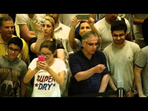 Flash mob - Mall of the Emirates