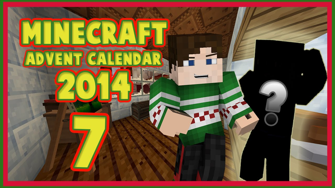 Christmas Calendar Minecraft Download : Minecraft christmas advent calendar day youtube