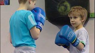 Бокс. Первая тренировка 2013 / Boxing. The first training 2013