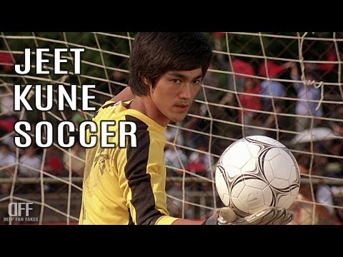 Amazing decuple save and a goal by Bruce Lee.