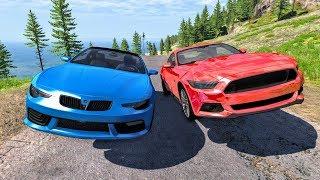 Street Racing Crashes #5 - BeamNG Drive | CrashBoomPunk