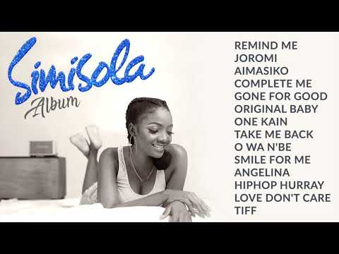 Simi  Simisola  Full Album  All Songs Audio