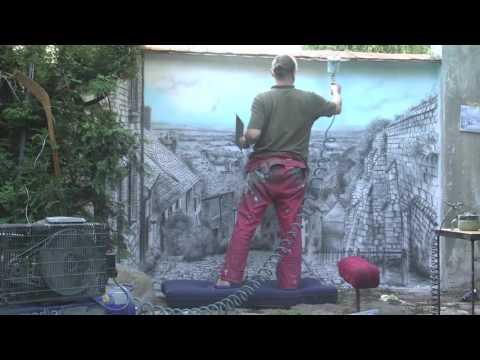 Jak powstał mural: GOLD HILL, Shaftesbury