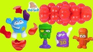 SMASHERS Игрушки! Взрывные Шарики - Детский мультик! Сюрпризы от Черепашек Ниндзя