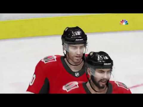NHL® 18 Tampa Bay Lightning vs Ottawa Senators