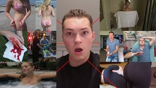 REACTING TO MY VERY FIRST VLOG *NEVER BEFORE SEEN FOOTAGE!*