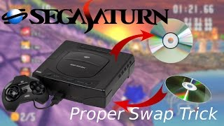 Perform the Sega Saturn Swap Trick PROPERLY and EASILY