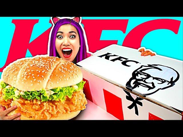 KHỦNG!!! BÁNH KFC SANDWICH KHỔNG LỒ CỰC BÉO CỰC NGON!