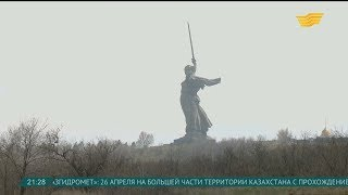 Казахстанские поисковики нашли останки бойцов погибших в Сталинградской битве