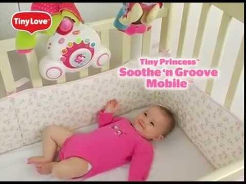 Музыкальный мобиль для кроватки 5 в 1 Tiny Love Крошка Бетти