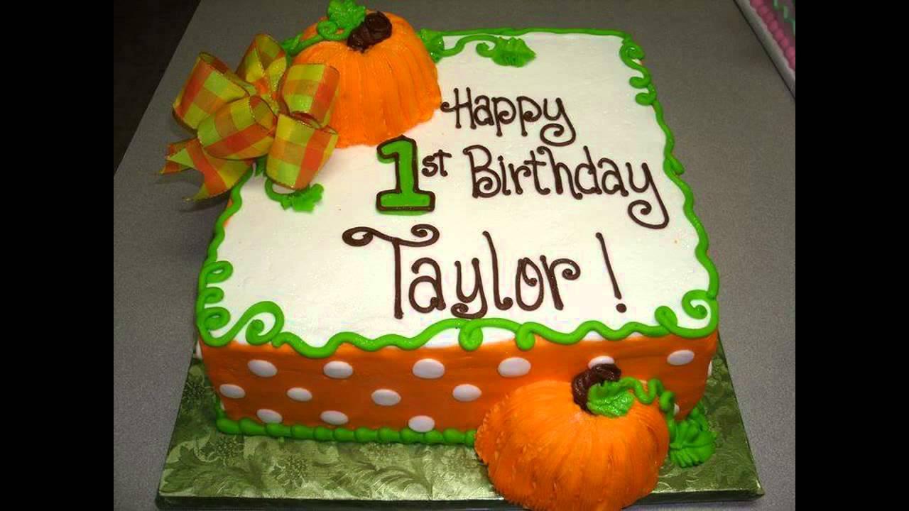 Fall birthday cake ideas YouTube