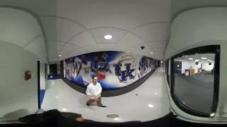 Take A 360º Tour Of The Kentucky Basketball Locker Room