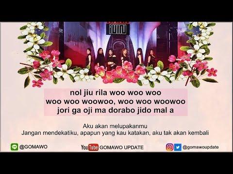 Easy Lyric (G)I-DLE - HANN (ALONE) By GOMAWO [Indo Sub]