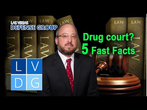 What is drug court in Nevada? – 5 Fast Facts