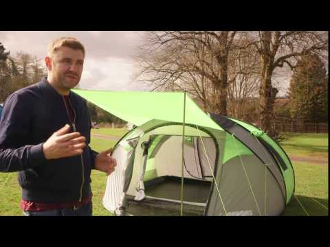 Cinch! Pop Up Tent - The Ultimate Festival Tent?