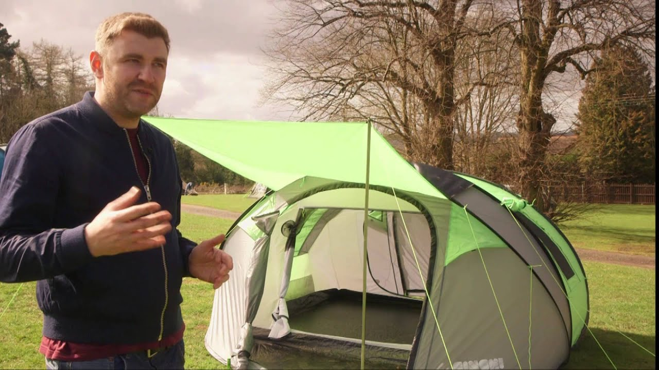 Pop Up Tent - The Ultimate Festival Tent? - YouTube  sc 1 st  YouTube & Cinch! Pop Up Tent - The Ultimate Festival Tent? - YouTube
