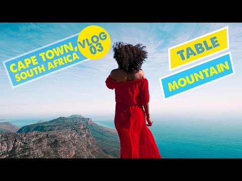 TABLE MOUNTAIN VIEWS! | Cape Town, South Africa - Vlog 03