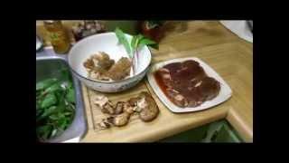 Morel mushroom harvest and cooking 2015