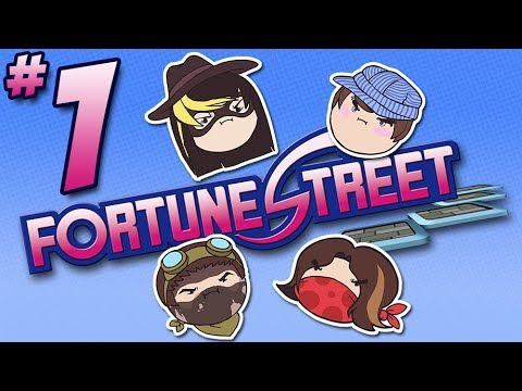 Fortune Street: Invest in Rage - PART 1 - Steam Rolled
