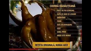 Ciorba Radauteana - reteta de origine, doamna Dumitrescu din Radauti, Bucovina