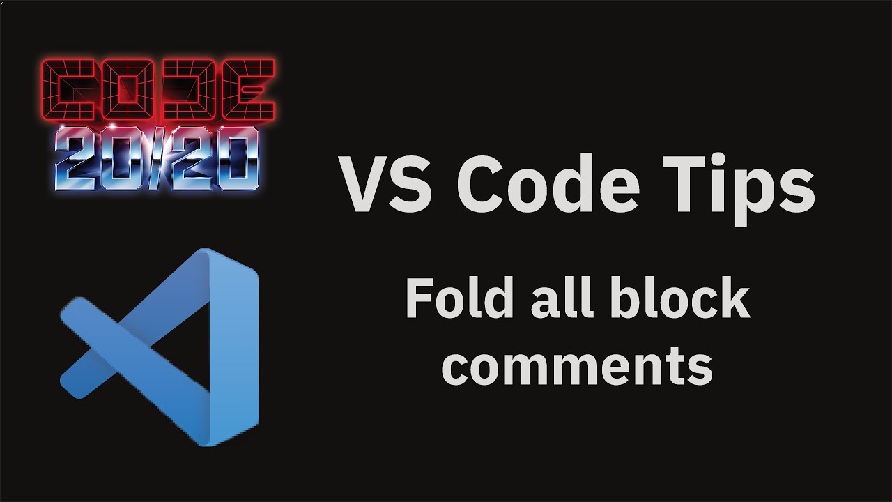 Fold all block comments
