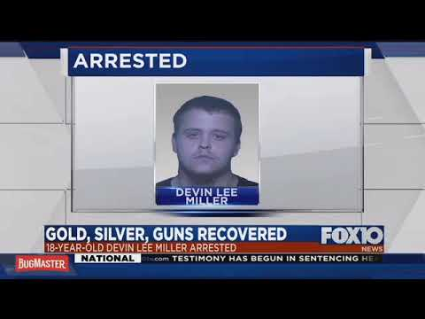 Gold, silver, guns recovered