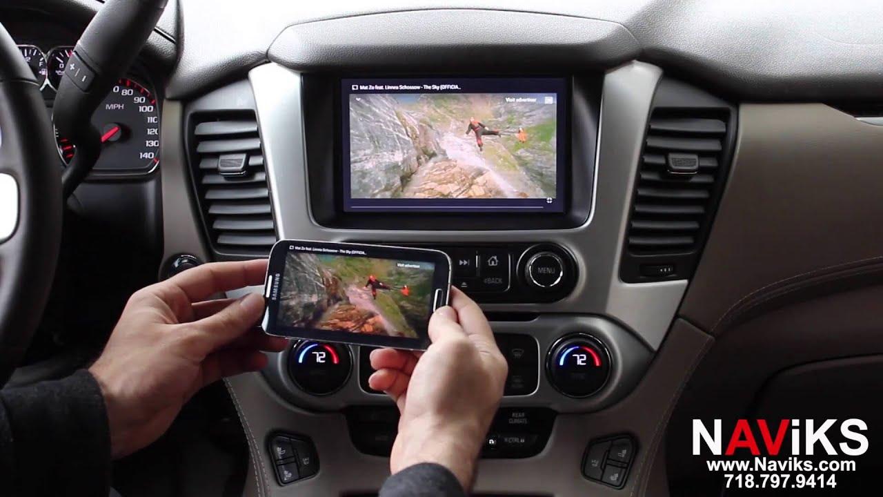 2015 - 2016 GMC Yukon HDMI Video Integration Interface