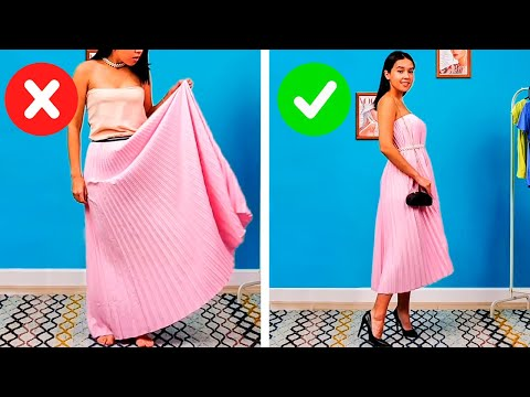 UPGRADE YOUR OLD CLOTHES INTO SOMETHING YOU'LL LOVE AGAIN   5 Minut Crafts