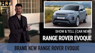 Show & Tell | Car News | 2019 Range Rover Evoque - get used to seeing this...