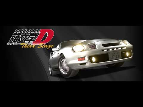 Initial D Third Stage All Racing Songs (Eurobeat)