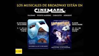 """""""El fantasma de la ópera"""" y """"El amor nunca muere"""""""