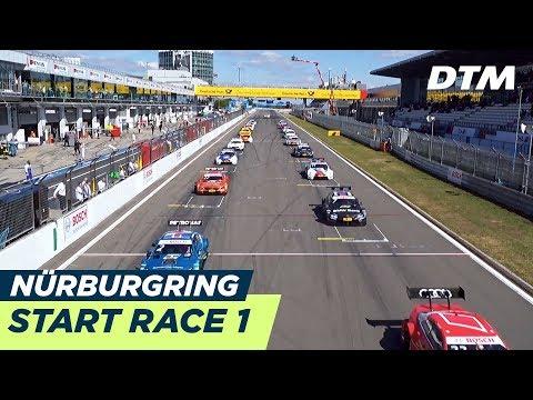 Start Race 1 - DTM Nürburgring 2018