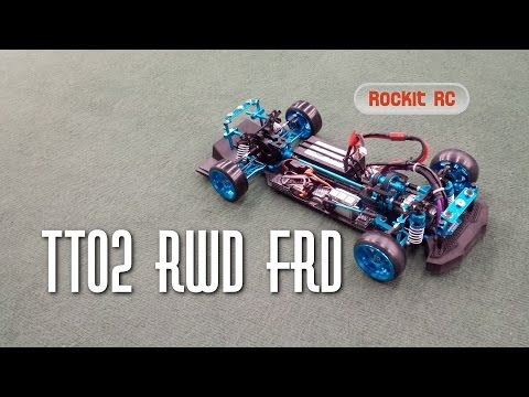 TT02 RWD FRD (Eagle Racing) drift setup and differential mod HD