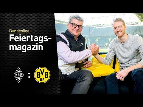 BVB Matchday Magazine w/ André Schürrle | Borussia Mönchengladbach - BVB