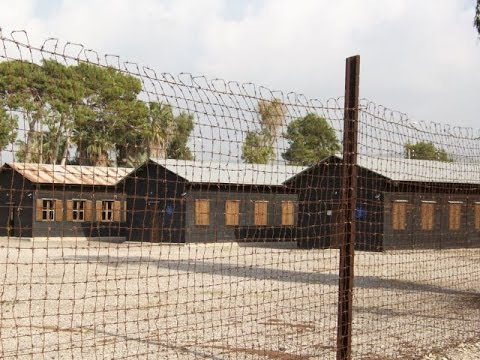 Atlit detainee camp - a British Mandate detention camp