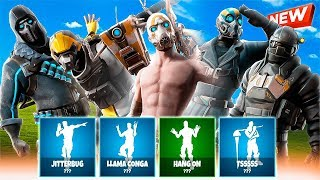 🔥 *FILTRATED* ALL NEW FORTNITE SKINS AND BAILES! 🔥 (FORTNITE x BORDERLANDS) [Flopper]