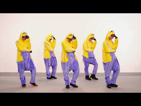 Minions Dance   M4N   Yeah1 Superstar Official Dance   YouTube