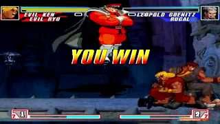 BTW MUGEN Arcade Runs - Team Arcade Run with Evil Ken and Evil Ryu