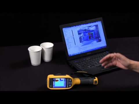 How To Use Ir Fusion With a Fluke Infrared Camera Thermal Imager
