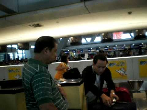 Inside NAIA Terminal 3 Part 2/5